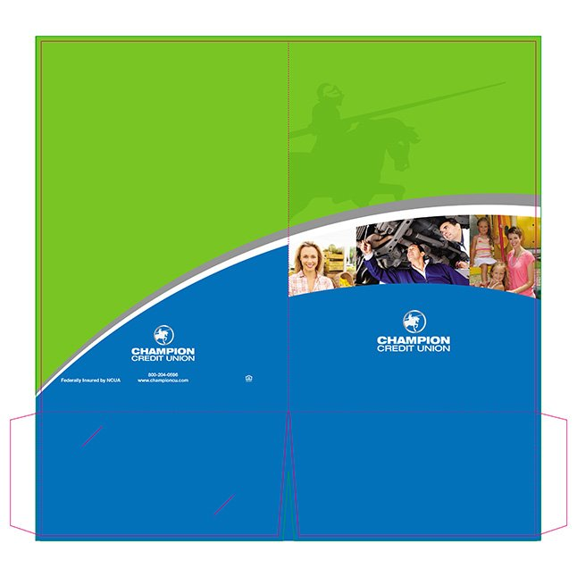 Champion Credit Union Presentation Folder