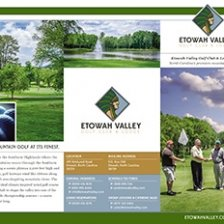 Etowah Valley Golf Club Trifold Brochure