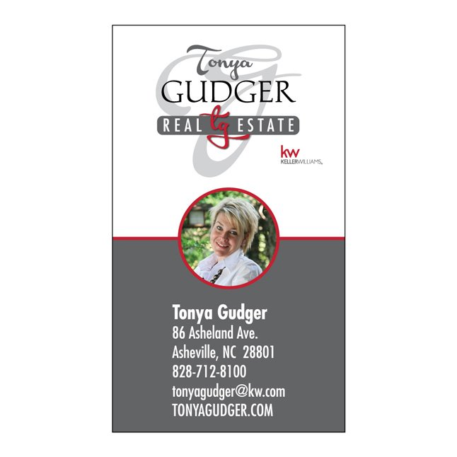 Tonya Gudger Business Card