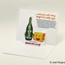 Pop-up Anniversary Card