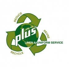 Plus Linen Green Logo