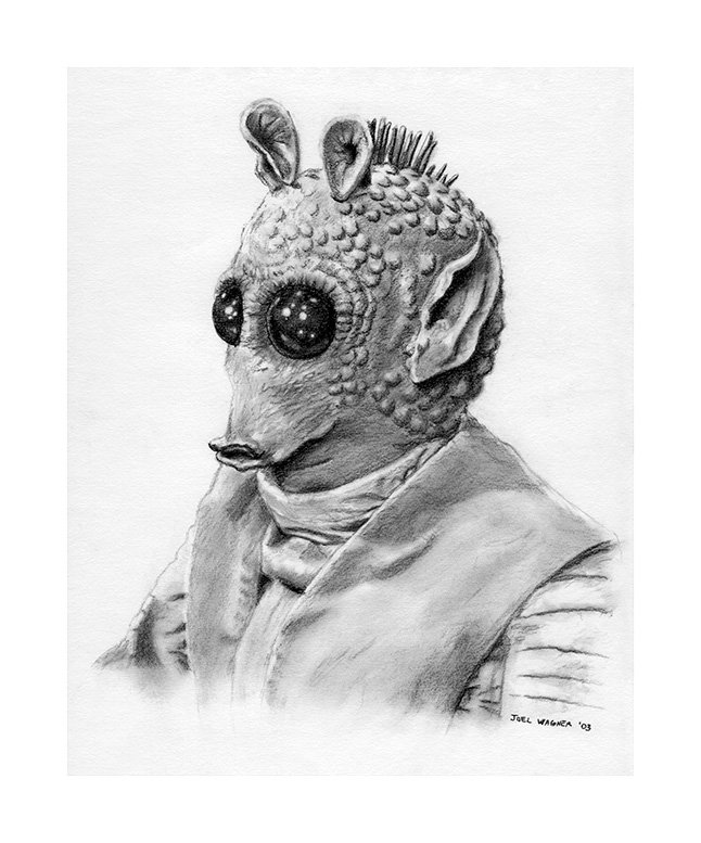Greedo Fan Art
