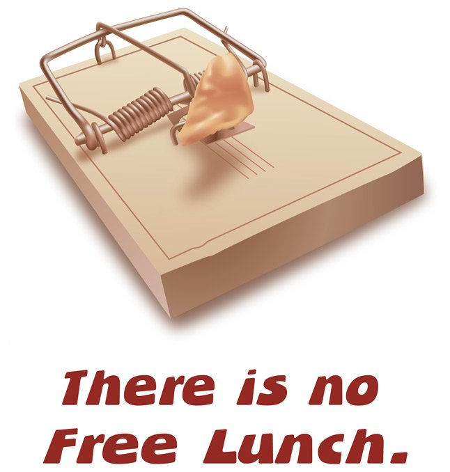 There Is No Free Lunch