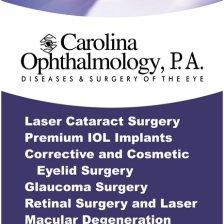 Carolina Ophthalmology Banner