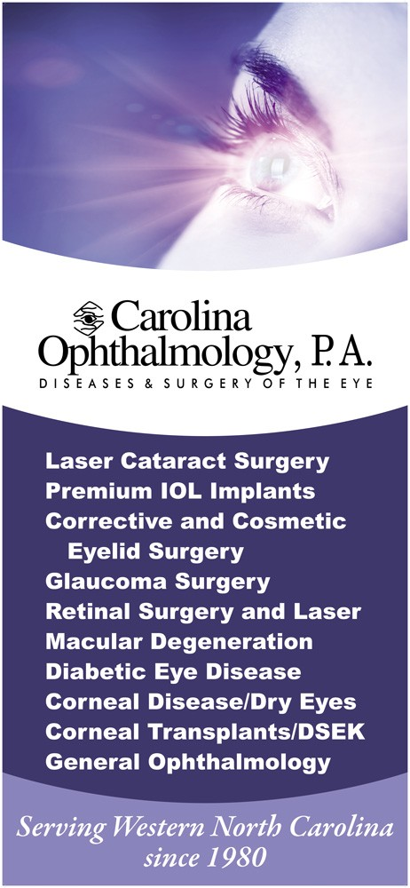 Carolina Ophthalmology Banner