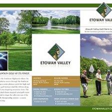 Etowah Valley Golf Club Trifold Brochure