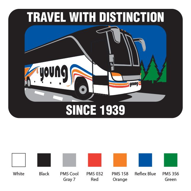 Young Transportation Uniform Patch