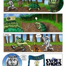Swift Shoes Comic Strip