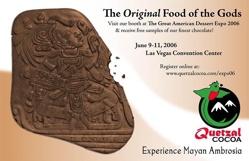 Quetzal Cocoa Half Page Ad