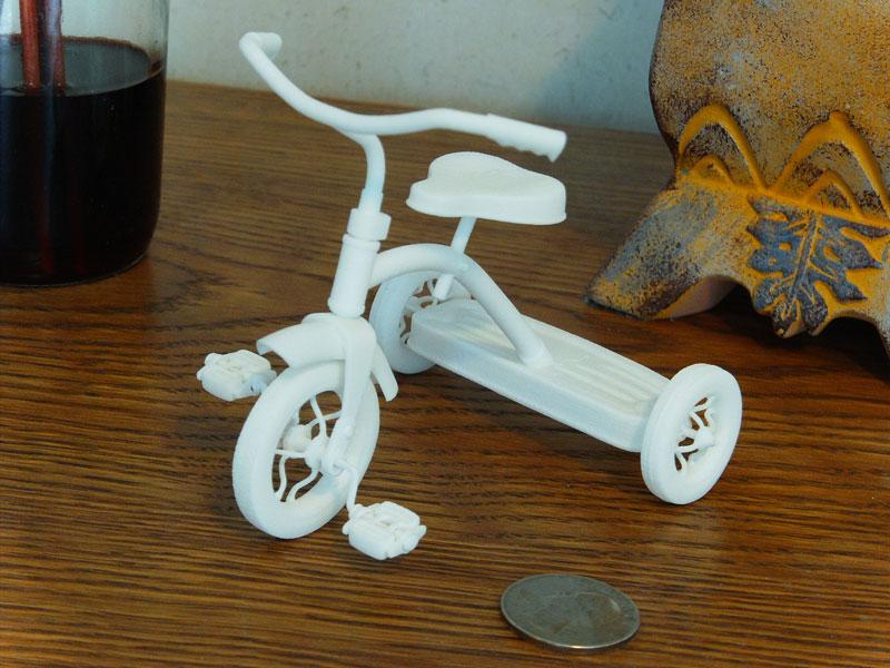 3D Printed Tricycle model