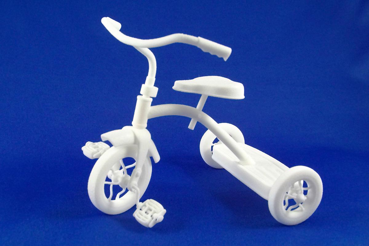 3D printed tricycle